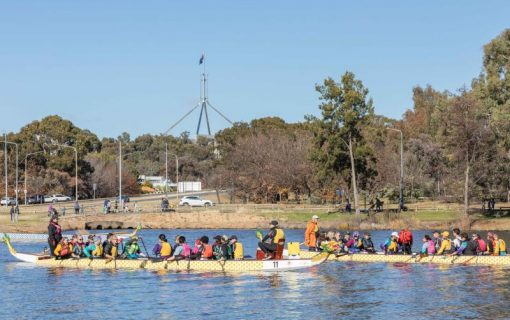 Dragon boating to get a permanent home at Grevillea Park