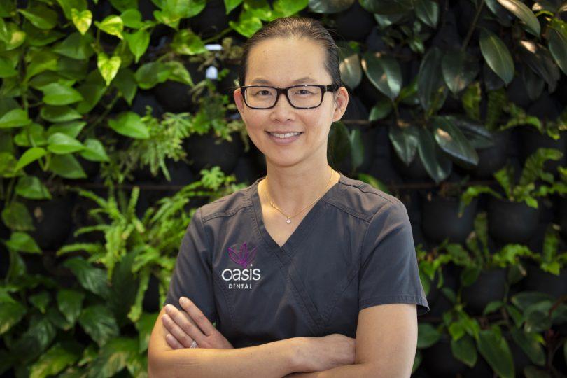 Dr Jeanine Lee from Oasis Dental