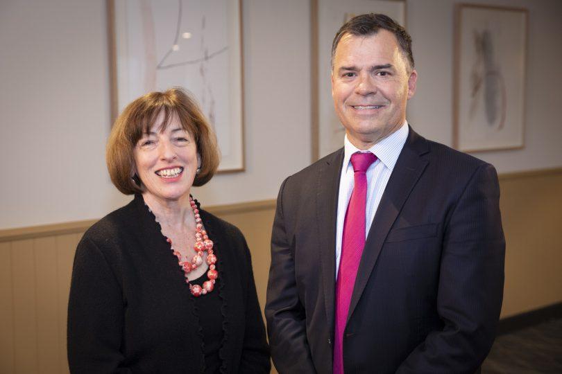 Marie-Louise Corkhill and Ian Mackay