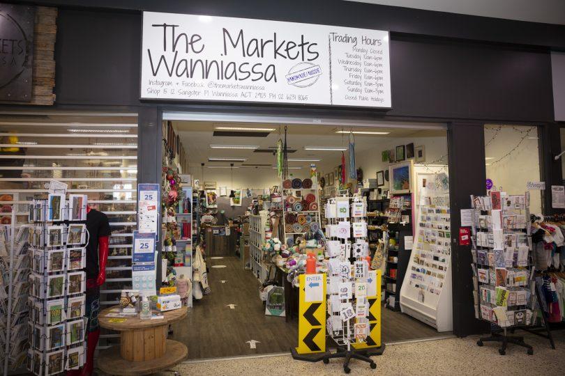 Exterior of The Markets Wanniassa