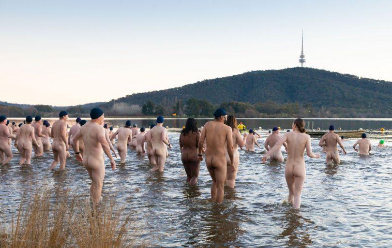 Winter Solstice Nude Swim