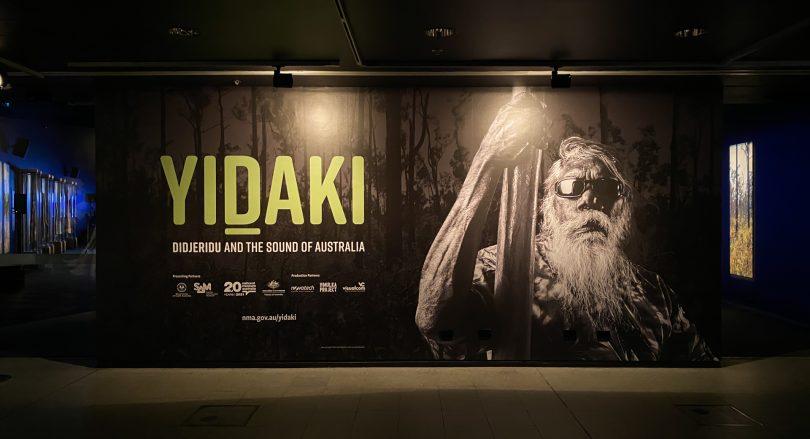 Yidaki: Didjeridu and the Sound of Australia mural