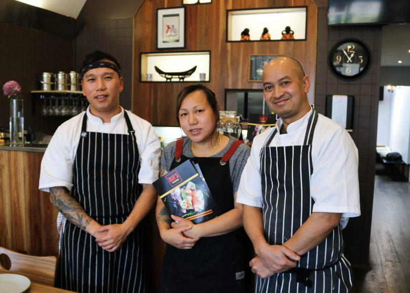 Nam Bui, Thanh Bui and Suriya