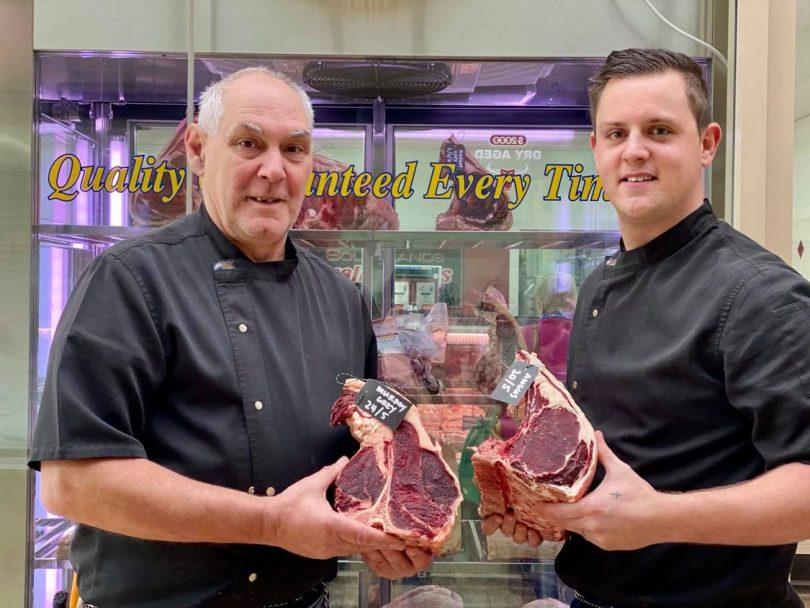 Alan Matthews and Reece Travers