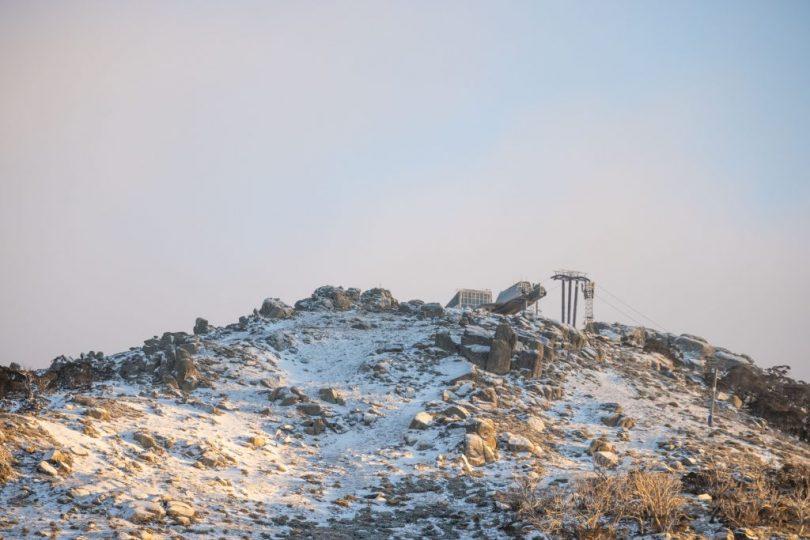 Natural snow at Thredbo's peak