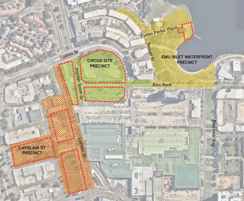 Belconnen Town Centre development sites