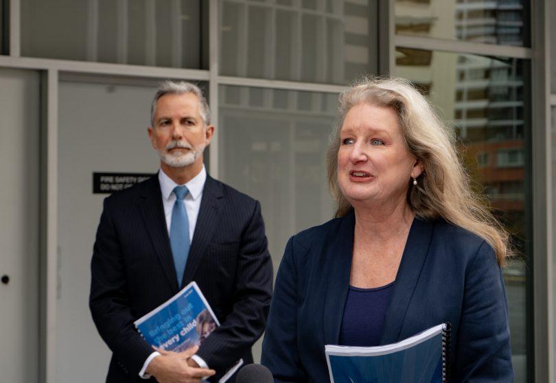 Dr Karen Macpherson and Jeremy Hanson