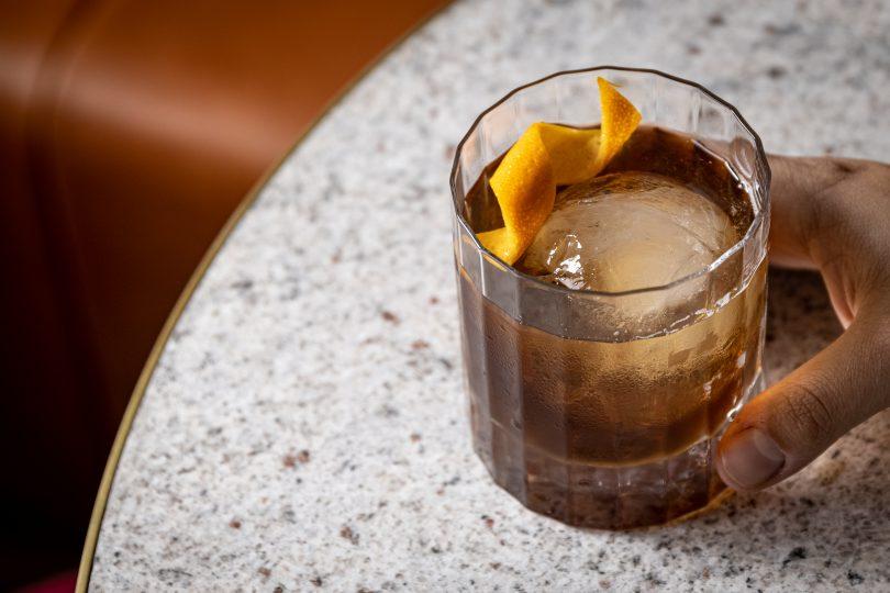 Wakefield's Bar & Wine cocktail