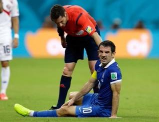 Ben referring Costa Rica versus Greece