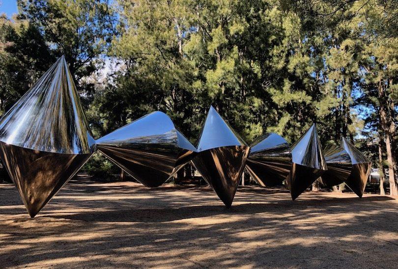 Bert Flugelman, 'Cones', Sculpture Garden, National Gallery of Australia
