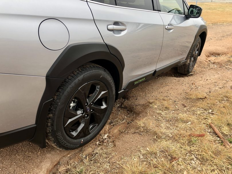 Outback offroad