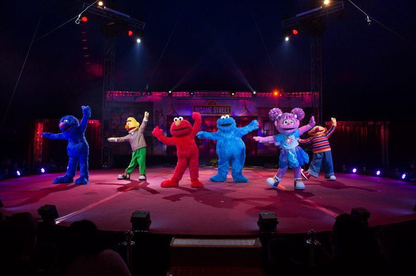 Sesame Street circus