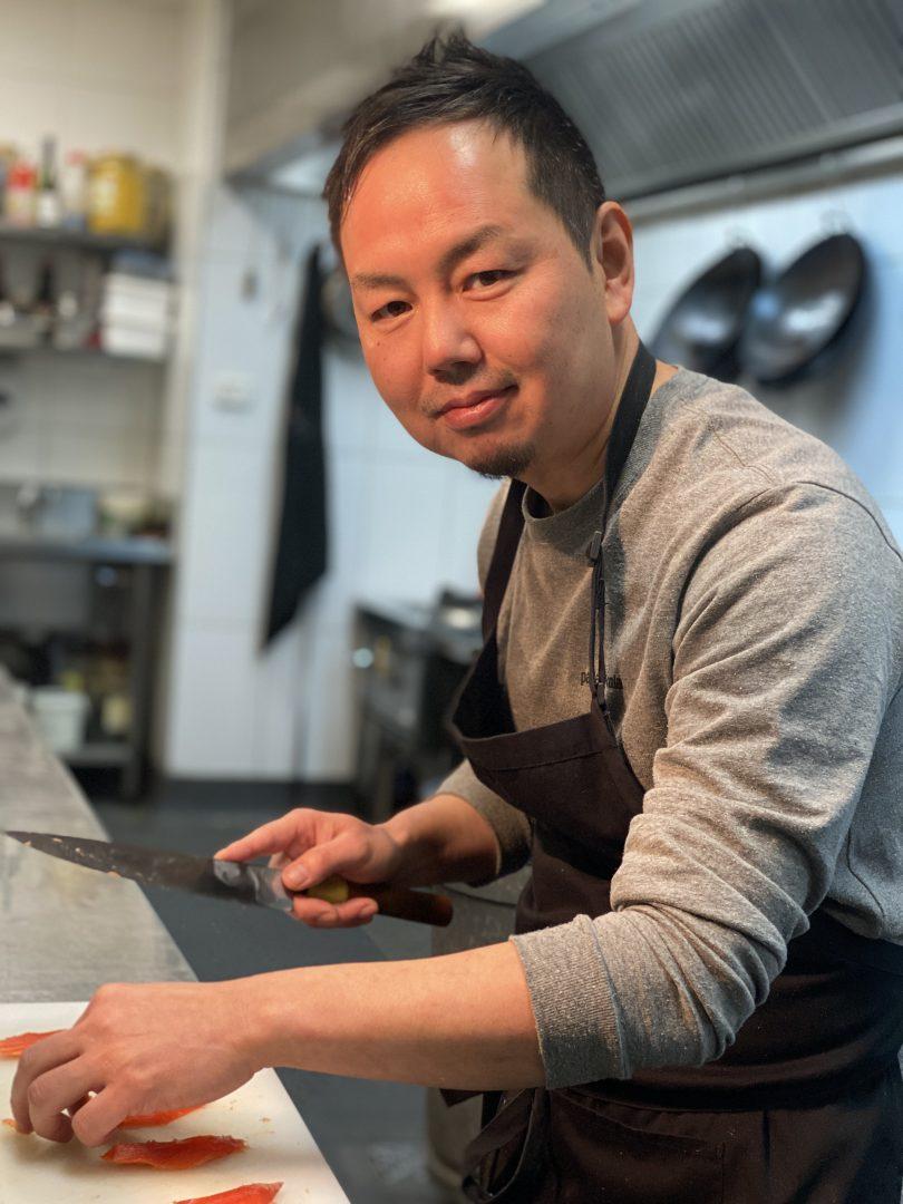 Chef Shinya Nakano