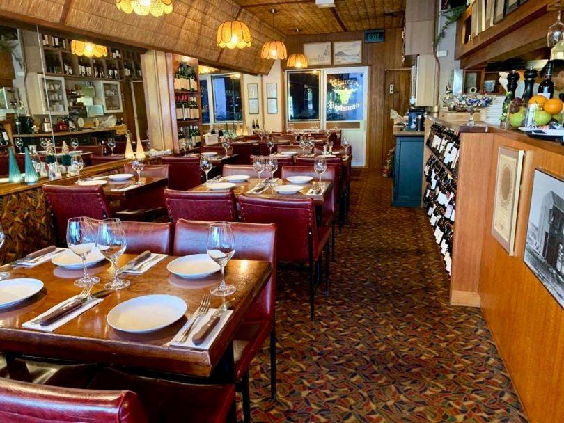 Interior at Charcoal Restaurant