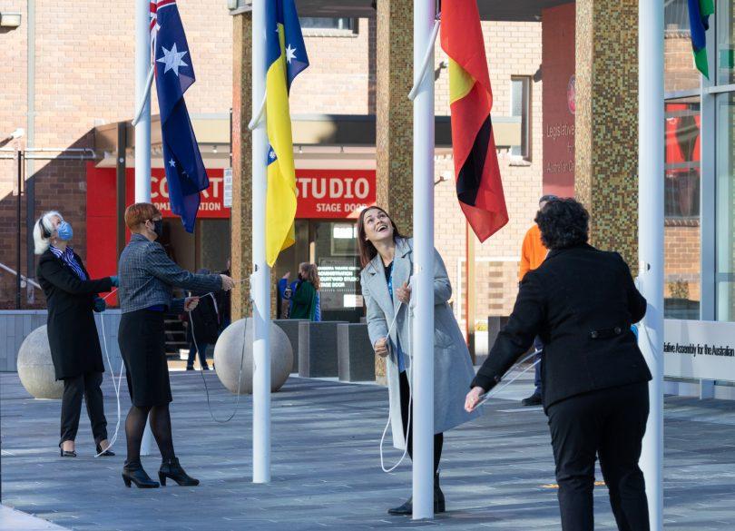NAIDOC flag raising