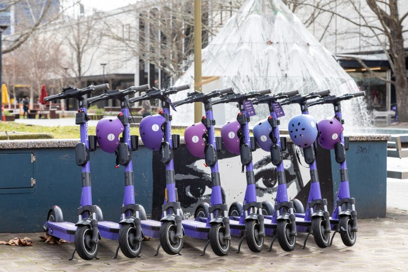 Beam e-scooters
