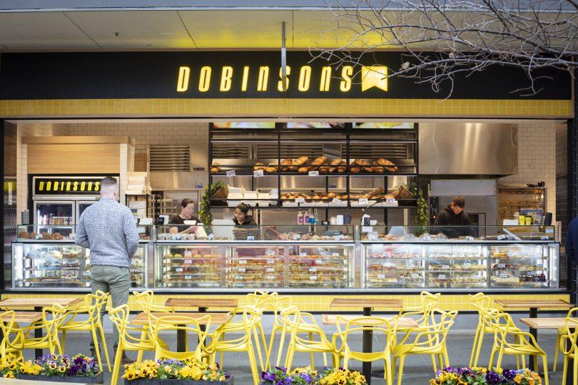 Dobinsons Bakery, Gungahlin.