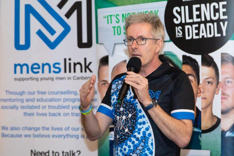 Martin Fisk, CEO Menslink.