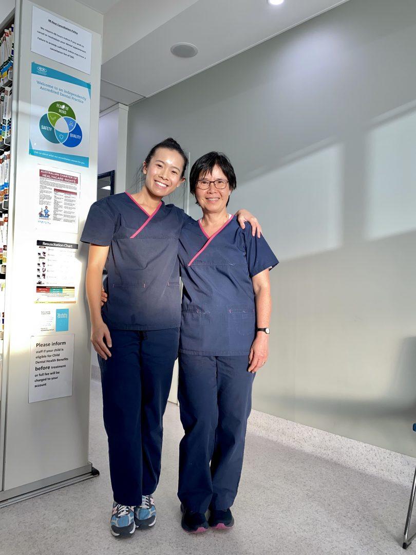 Dr Loc Lam and Dr Laura Pham