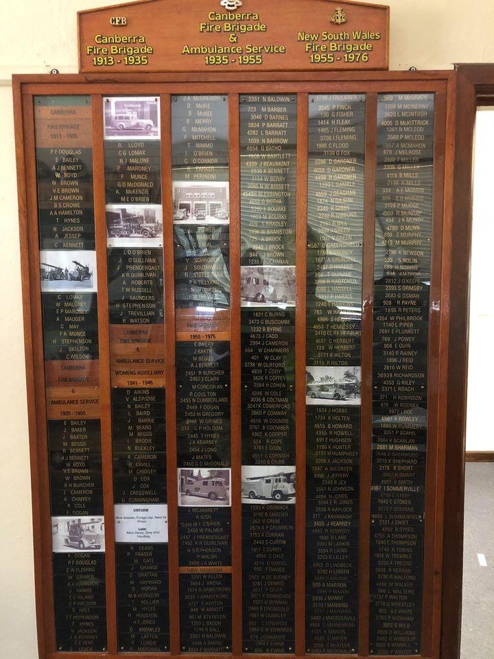 Honour board