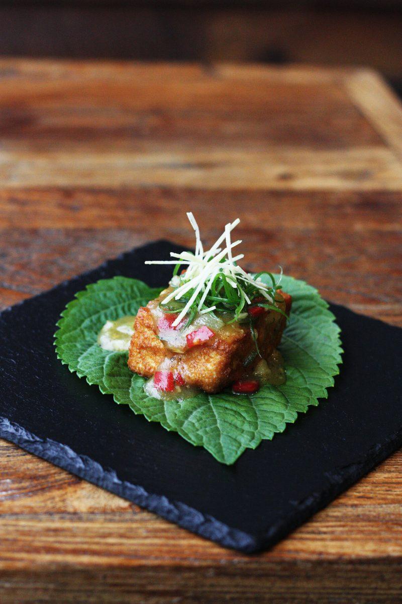 Zaab restaurant Fried Egg Tofu