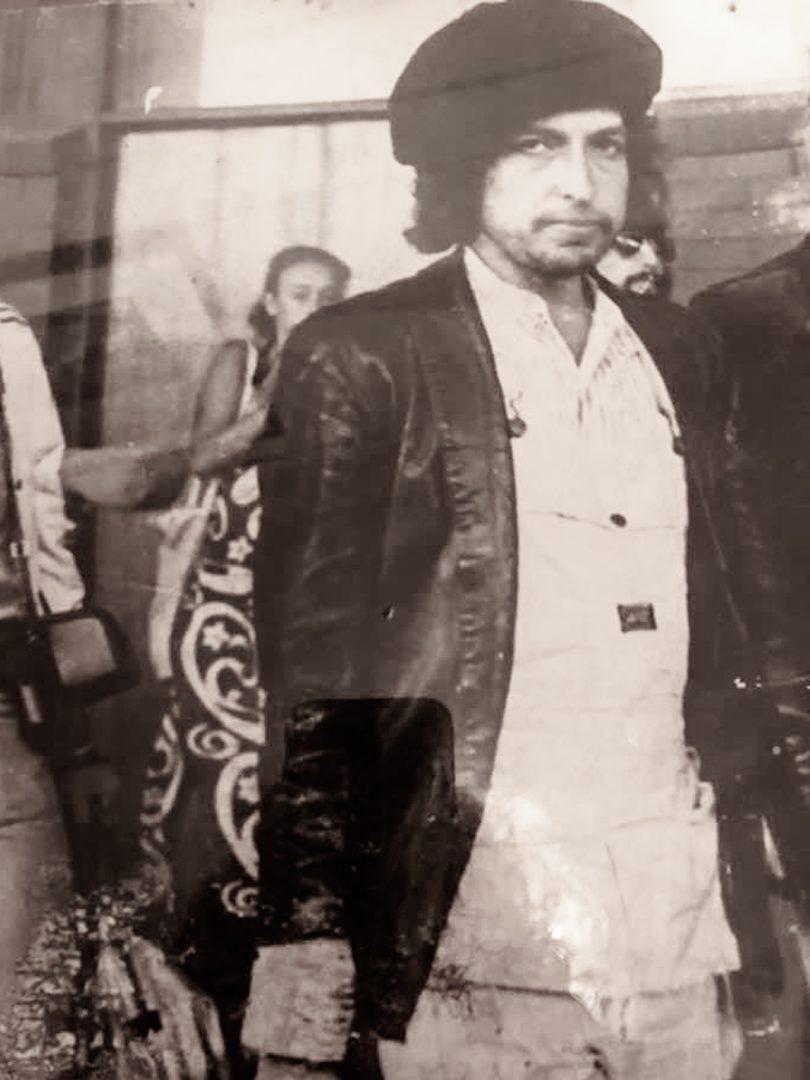Sally Hopman and Bob Dylan