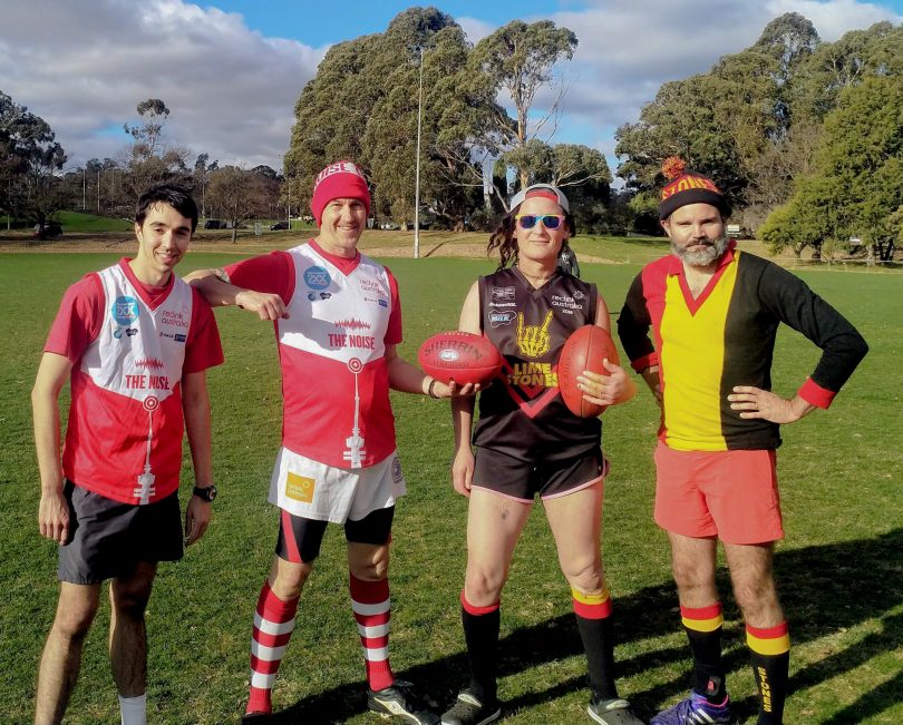 Four AFL players