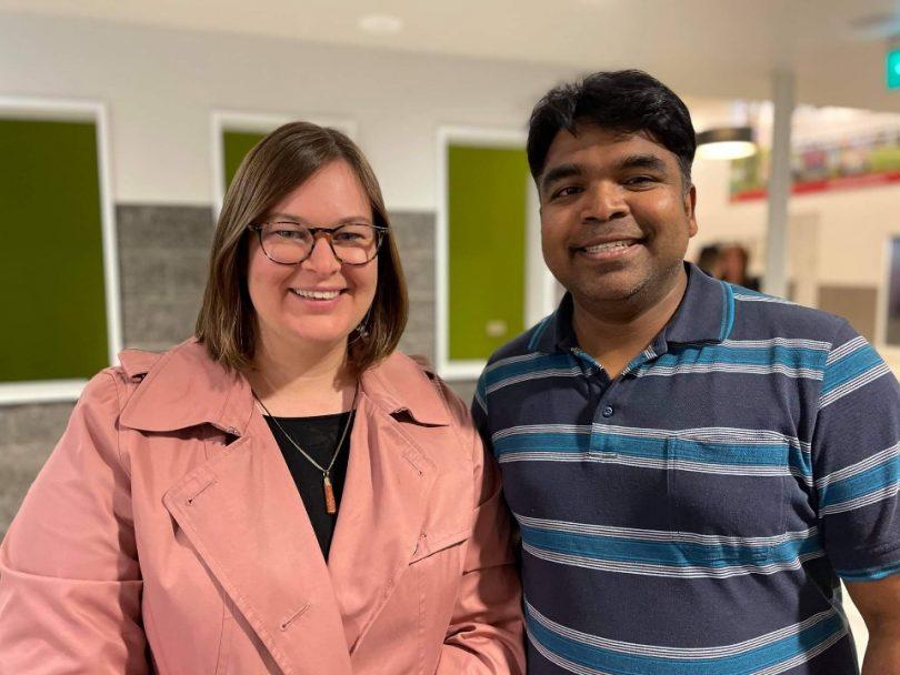 Suzanne Orr and Pradeep Sornaraj