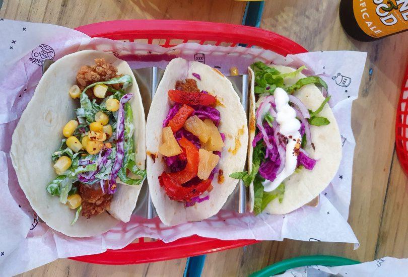 Tacos at Beach Burrito