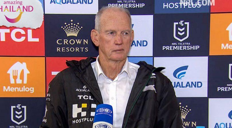 South Sydney Rabbitohs coach Wayne Bennett