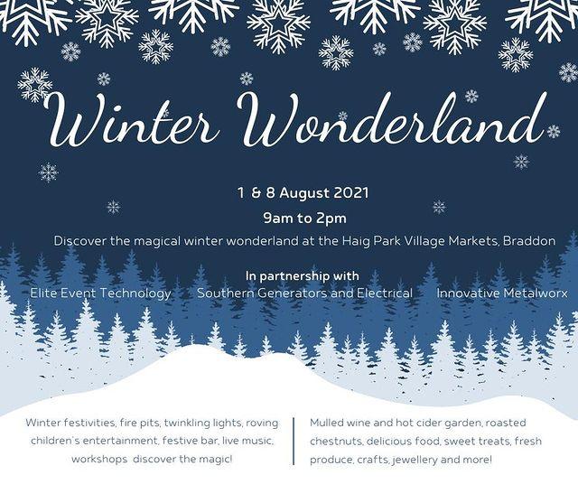 Winter Wonderland Digital Poster