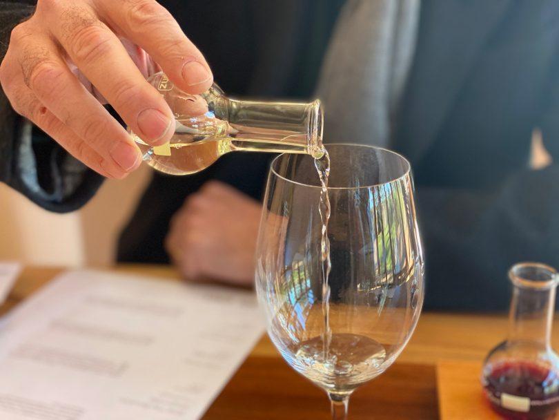 Yarrh wines tasting