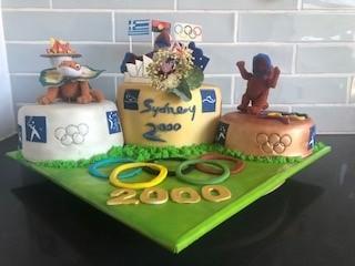 Olympics cake
