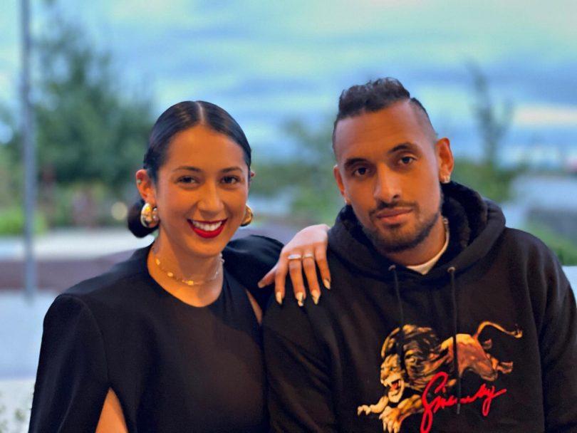 Halimah and Nick Kyrgios