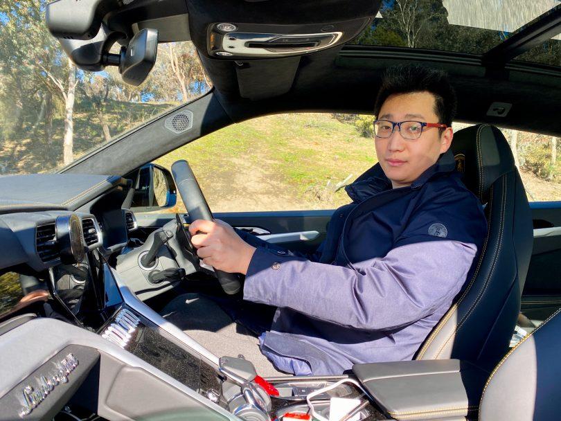 Jack Wang in Lamborghini Urus