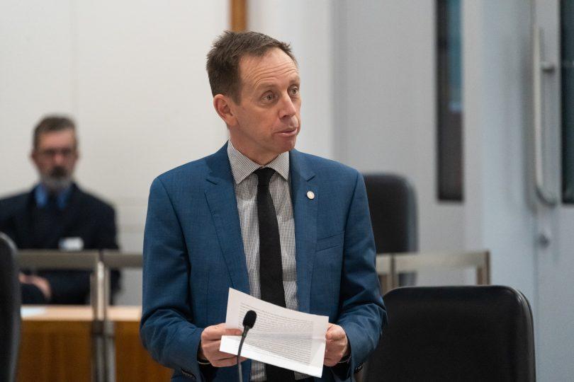 ACT Attorney-General Shane Rattenbury