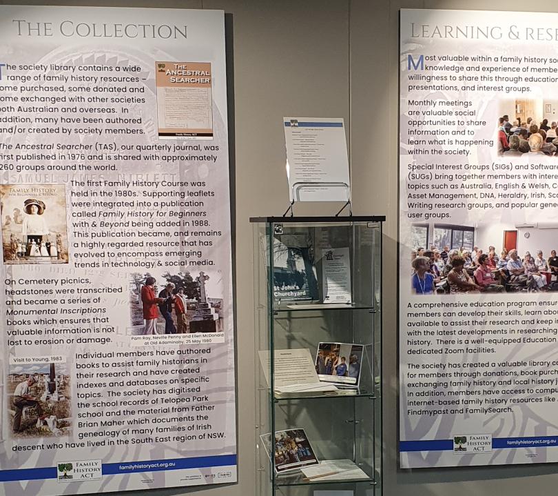Family history exhibition
