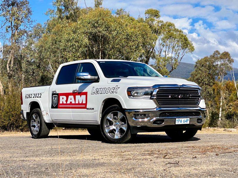 The Ram 1500 Laramie