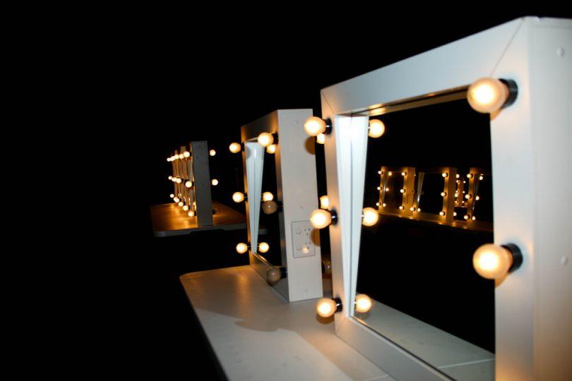 Theatre mirrors