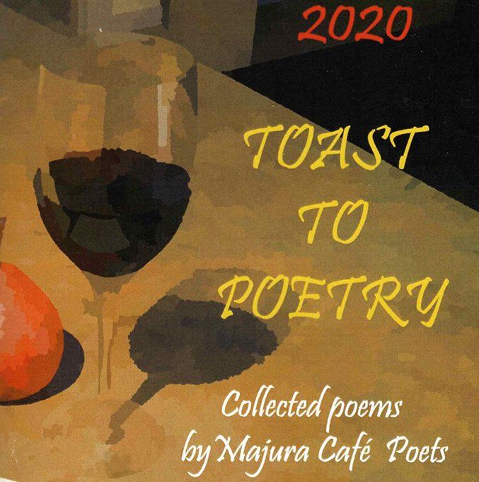 Majura Cafe poets Toast