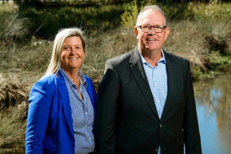 Sue Maloney and Peter Maloney