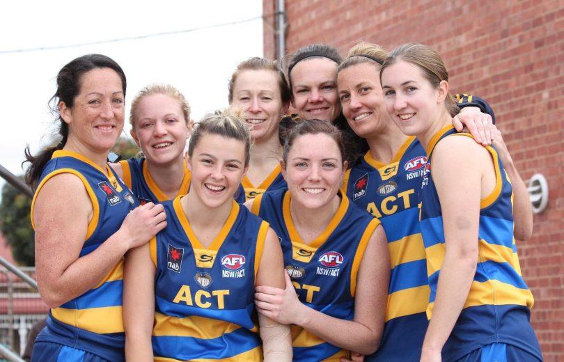 Eastlake representatives in the 2011 ACT women's Australian rules football team