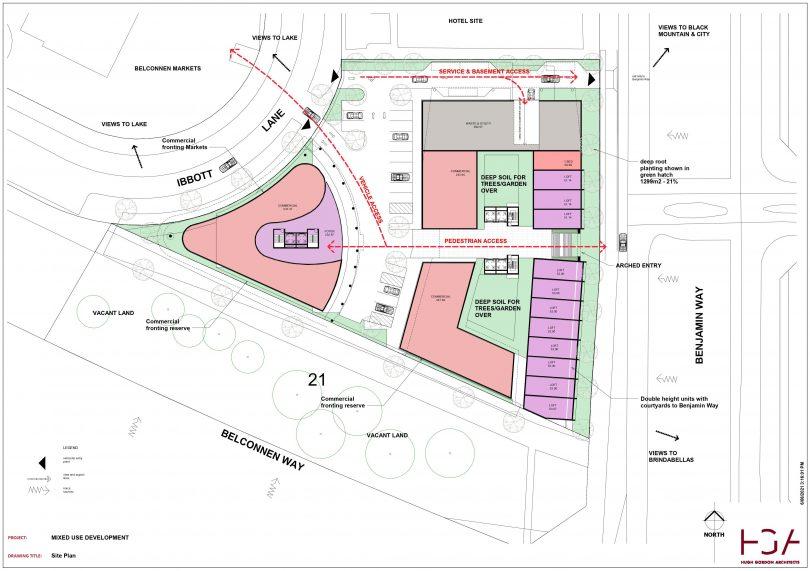 One Benjamin Site Plan