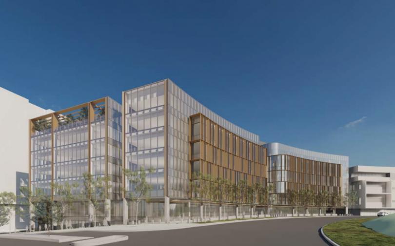 One City Hill office development