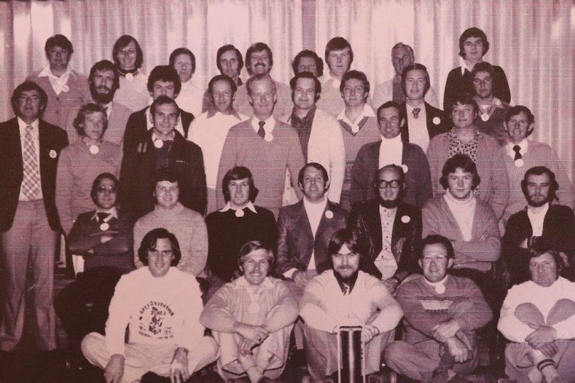 Members of the Apex Club of Goulburn in 1979