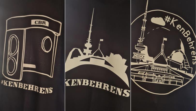 'Ken Behrens' T-shirts