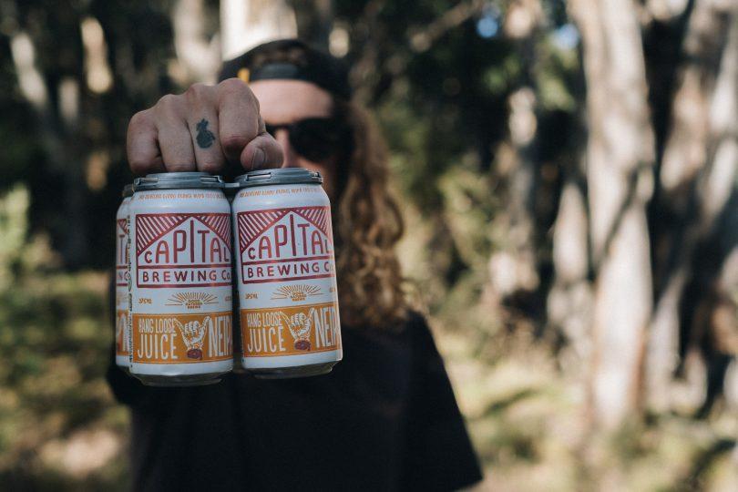 Capital Brewing Co Hang Loose Juice beer