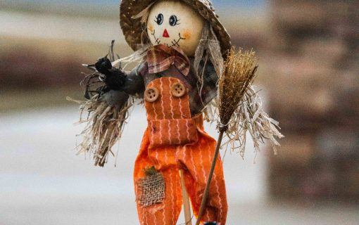 Hay, dads! There's a scarecrow competition to celebrate Father's Day