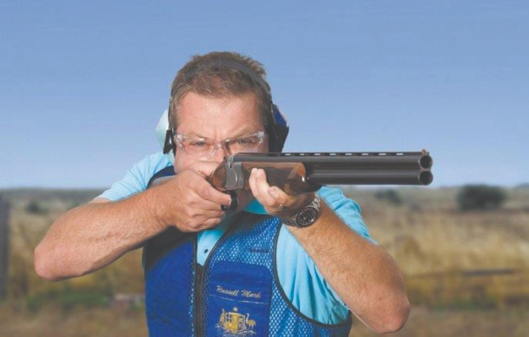 Russell Mark has considerable experience with Olympic shooting having competed in six Olympics and gaining a gold medal at the 1996 Atlanta Games. Photo: Goshooting.com.