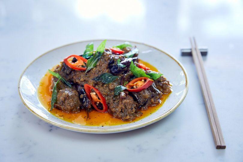XO pork neck curry